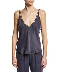Skin Tina Laced Camisole Graphite Grey
