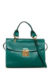 Marc Jacobs The Mini 54 Leather Handbag Green