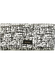Paul Smith 'Etching' Tri Fold Wallet Black