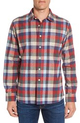Grayers Men's 'Hadley Heritage' Regular Fit Plaid Flannel Sport Shirt