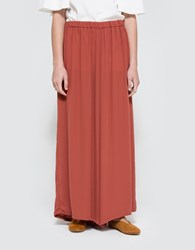 Just Female Lift Pant Marsala Red