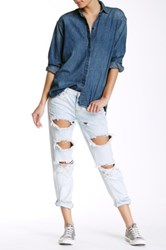 One Teaspoon Awesome Baggies Relaxed Leg Jean Blue