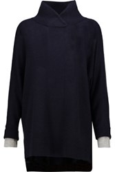 Magaschoni Cashmere Sweater Midnight Blue