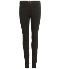 Mih Jeans High Rise Skinny Jeans Black