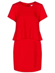 Boss Logo Boss Damilira Dress Bright Red