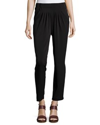 Romeo And Juliet Couture Pleat Front Relaxed Fit Pants Black