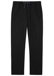 James Perse Classic Black Jersey Jogging Trousers