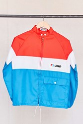 Urban Renewal Vintage Jeep Red White Blue Jacket Assorted