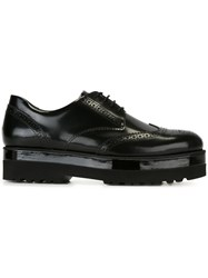 Hogan Chunky Sole Brogues Black