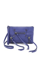 Botkier Logan Mini Cross Body Bag Dark Purple