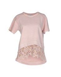 La Kore Topwear Sweatshirts Women Light Pink