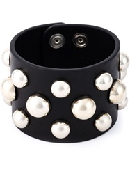 Red Valentino Studded Bracelet Black