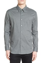 Men's James Perse Flannel Chambray Sport Shirt
