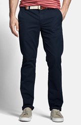 Men's Big And Tall Bonobos Slim Fit Washed Cotton Chinos Jet Blues