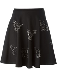 Philipp Plein 'Amused' Skirt Black