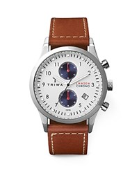 Triwa Lansen Chronograph Watch 38Mm White