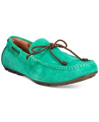 Alfani Men's Trevor Braided Lace Drivers Only At Macy's Men's Shoes Green