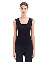 New Season Calvin Klein Collection Womens Ribbed Ryders Vest Top