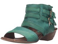 Miz Mooz Cyrus Emerald Women's Sandals Green