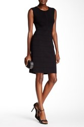 Anne Klein Stretch Knit Bodycon Dress Black