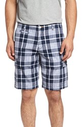 Tommy Bahama Men's Big And Tall 'Double Clara' Plaid Shorts Maritime