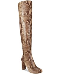 Inc International Concepts Tyliee Over The Knee Boots Only At Macy's Women's Shoes Snake