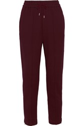 Mcq By Alexander Mcqueen Jersey Tapered Pants Merlot