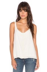 Bella Dahl Button Up Tank Ivory
