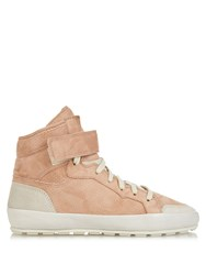 Isabel Marant Bessy Hip Hop Suede High Top Trainers