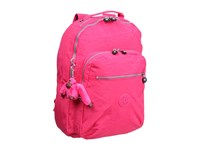 Kipling Seoul Backpack With Laptop Protection Vibrant Pink Backpack Bags