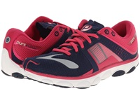 Brooks Pureflow 4 Peacoat Raspberry Paradise Green Women's Running Shoes Blue