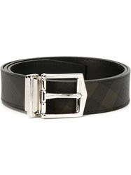 Burberry Checked Belt Black