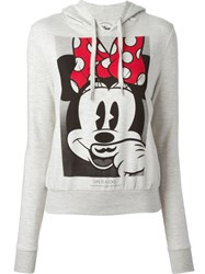 Eleven Paris Minnie Hoodie Grey