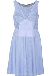 Nina Ricci Broderie Anglaise Cotton Dress Lavender