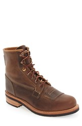 Timberland Men's 'Smugglers' Plain Toe Boot Golden Brown