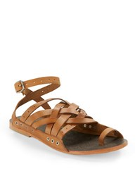 Free People Belize Strappy Sandals Tan