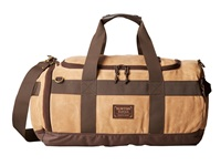 Burton Backhill Duffel Beagle Brown Waxed Canvas Duffel Bags