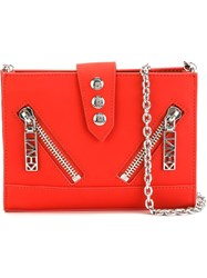 Kenzo 'Kalifornia' Chain Wallet Red
