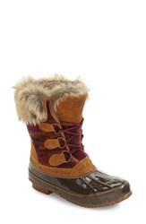 Khombu Women's Lace Up Winter Boot