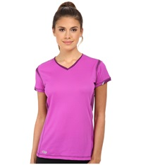 Outdoor Research Octane S S Tee Ultraviolet Women's Clothing Pink