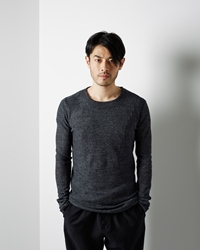 Forme D'expression Graphic Knit Pullover Anthracite