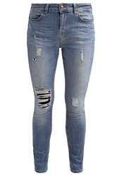 Only Onllise Relaxed Fit Jeans Dark Blue