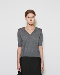 Marni Short Sleeve Cashmere Pullover