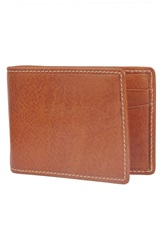 Trafalgar 'Hawthorne' Money Clip Wallet Tan