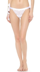 Cosabella Fetherston Low Rise Thong White