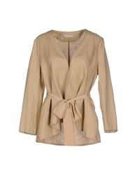 Stefanel Suits And Jackets Blazers Women Beige