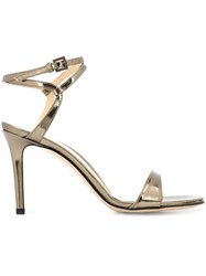 Marion Parke 'Lily Pewter' Sandals Metallic