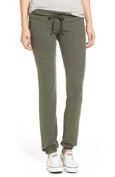 Wildfox Couture Women's Wildfox 'Basics Malibu' Skinny Jogging Pants Pine