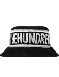 The Hundreds Black Phil Bucket Hat