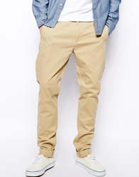 Weekday Wood Chinos Slim Fit Beige